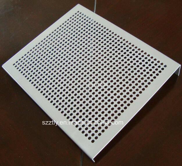 Custom Anodized Aluminium Extrusion Strip Sheet by Punching