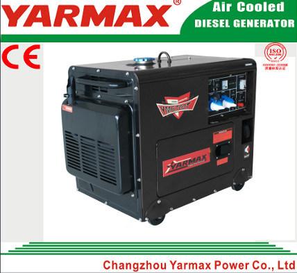 Yarmax Diesel Generator Set Portable Genset Power Generator Diesel Engine Ce ISO Electric Start