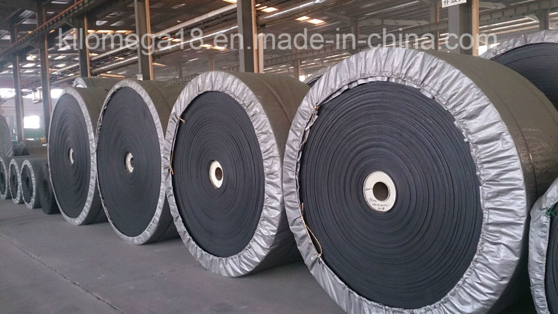 Black Green White PVC/PU Conveyor Belt Manufacturers Rubber Steel Cord Conveyor Belt