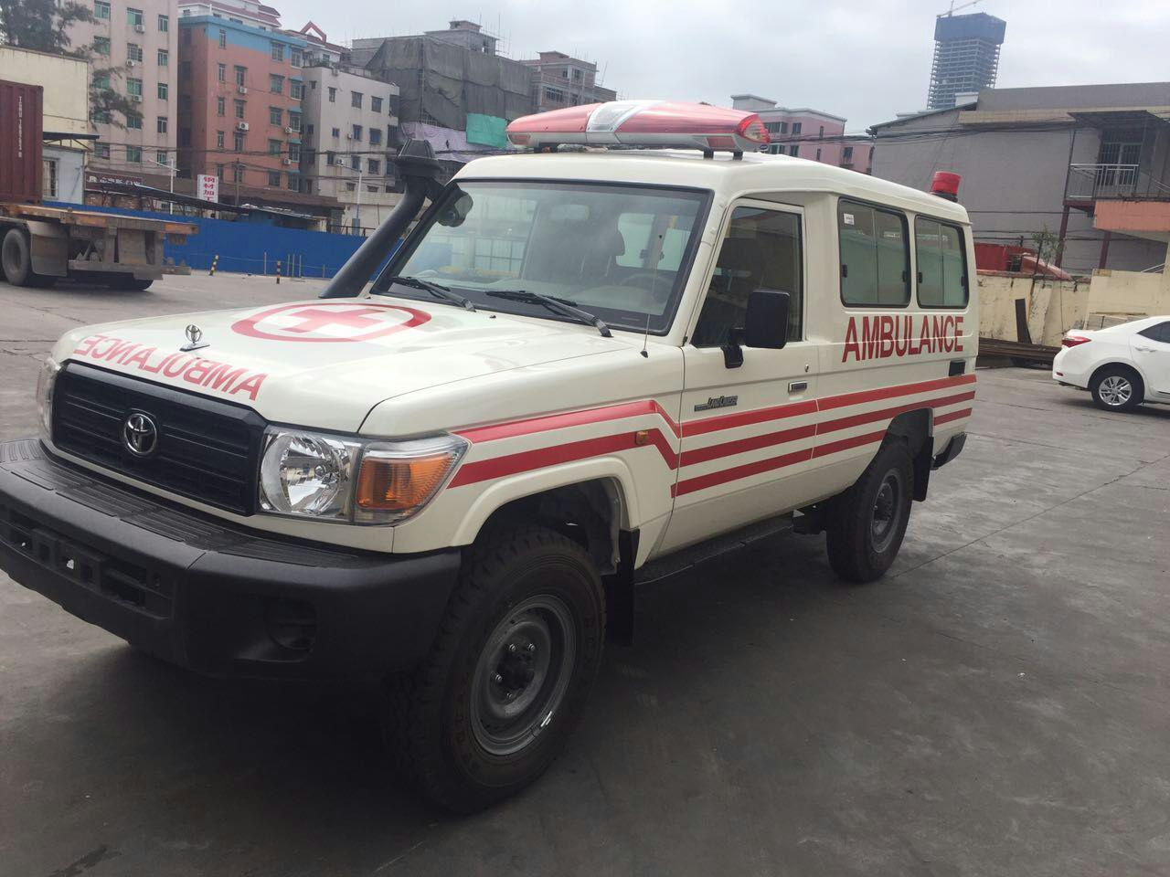 Toyota 4X4 Land Cruiser LC78L Hard Top Diesel Rhd Ambulance