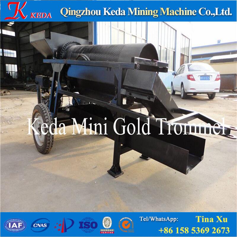 Gravity Screen Equipment for Gold Mining