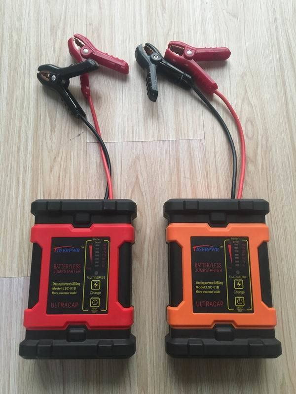 Batteryless Jump Starter for Start The Car