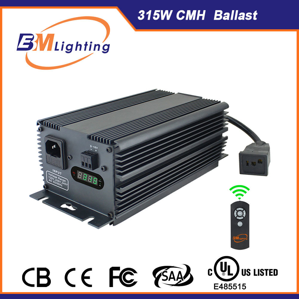 China Manufacturer of 315W CMH Digital Electronic Ballast for Hydroponics