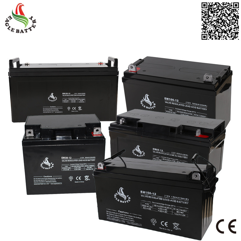 12V 200ah Rechargeable Sealed Lead Acid Battery for Solar