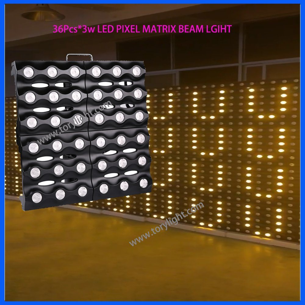 Stage Pixel Gold Array 36*3W Beam Matrix Party Disco Light
