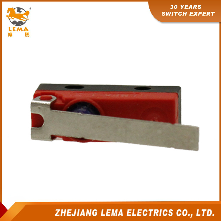 Lema Kw12f-8 Waterproof IP67 Long Lever Micro Switch