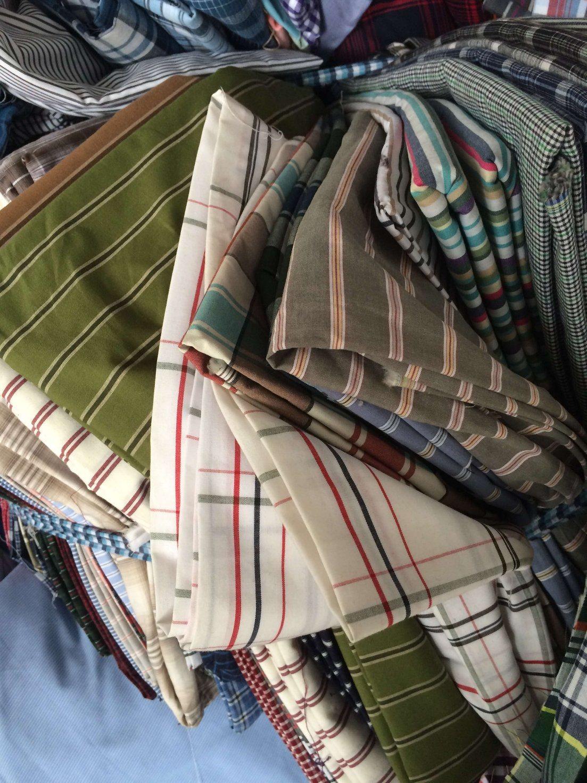 Cotton Shirt Fabrics in Stocks