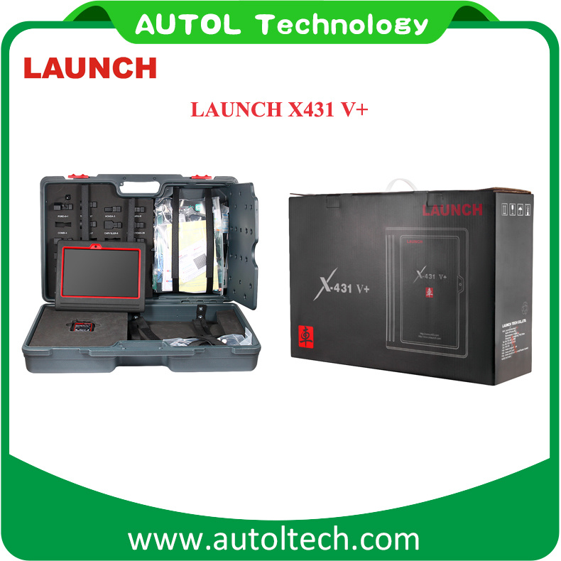 Launch X431 V+ WiFi/Bluetooth Globle Version Update Online X431V+