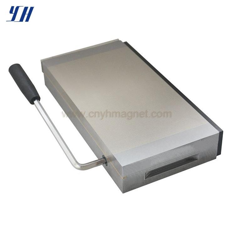 Rectangular Permanent Magnetic Chuck Manufacturer