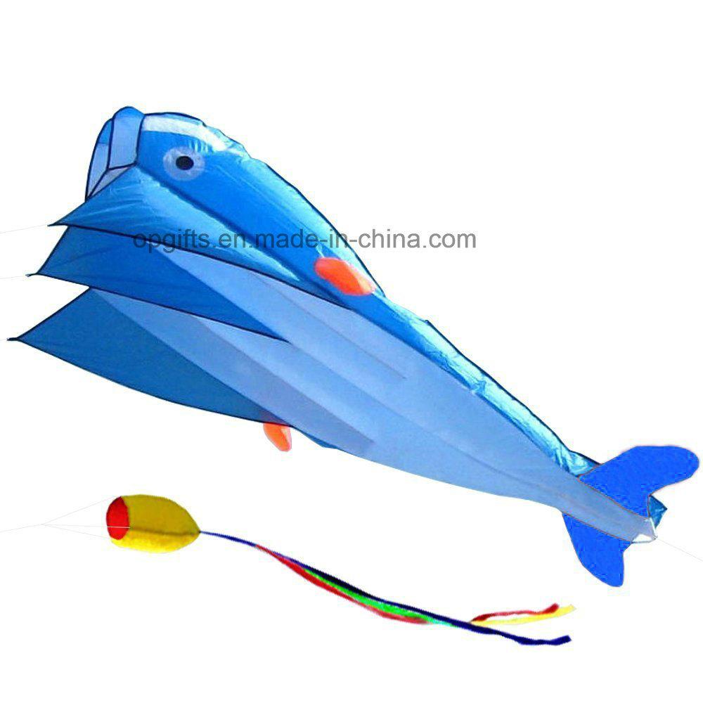 Outdoor Fashion Dolphins Children′s Cartoon Software Kite