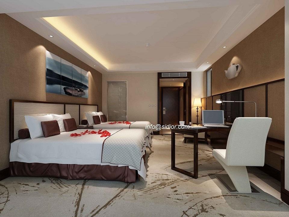 (Cl8004) Modern Luxury Hotel Modern Bedroom Hotel Apartment Furniture