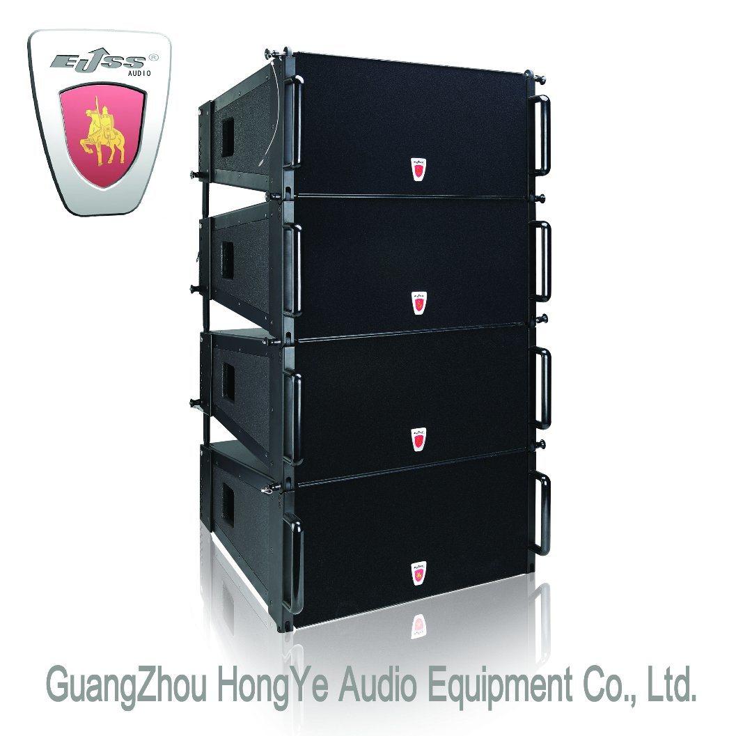 "Et-S1 2X10"" Passive Line Array Loudspeaker System Professional Audio"