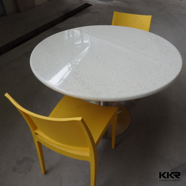 China 42 Round Stone Dining Table Top Fast Food Tables