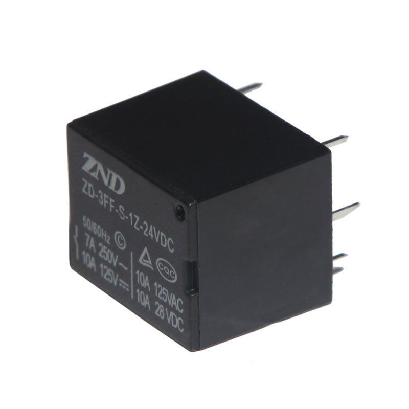 3FF (T73) Silver Contact Power Relay 7A 24V Electromagnetic Relay