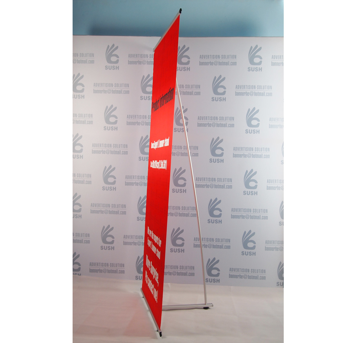 L Fabric Banner Stand Banner Stand