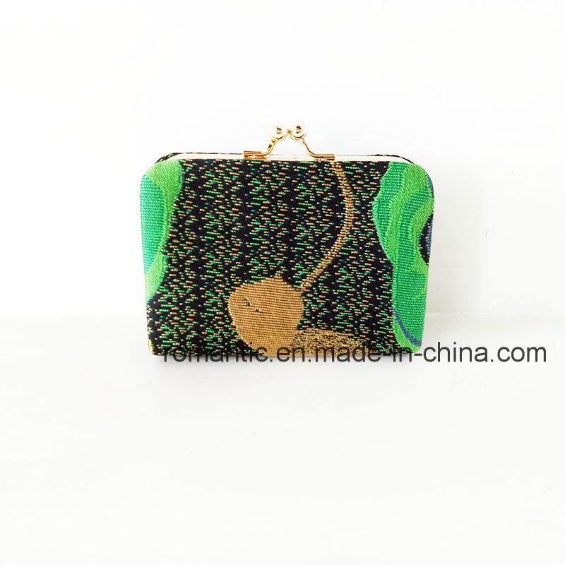 Fashion New Model Lady Embroidery Fabric Wallet (NMDK-061404)