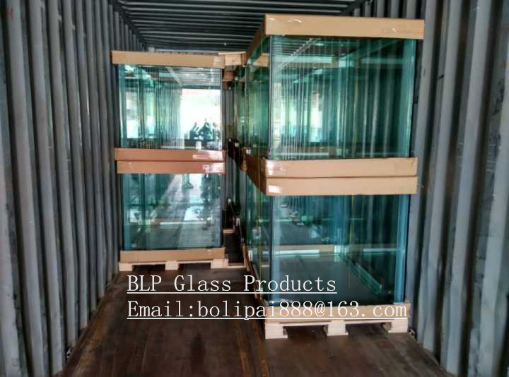 Custom 5mm-19mm Ultra Glass Aquarium Fish Tank