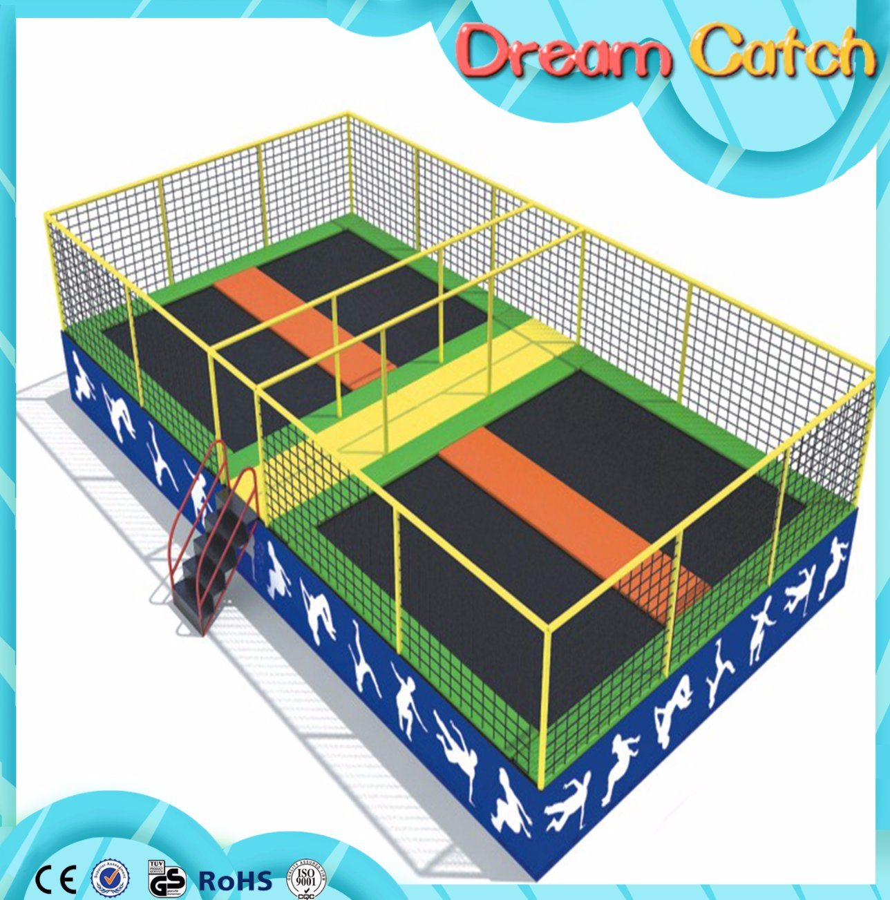 Soft Kids Trampoline Used for Kids Amusement Park