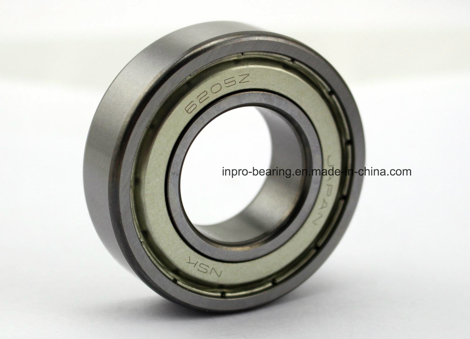 High Performance Industrial Deep Groove Ball Bearing 6200, 6201, 6202, 6203, 6204, 6205 Series with Stainless Steel