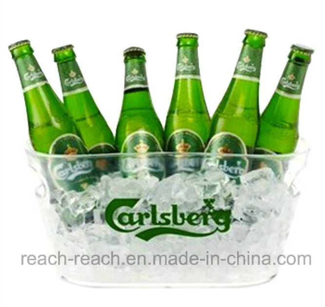 Large Size Plastic Beer Ice Bucket (R-IC0143)
