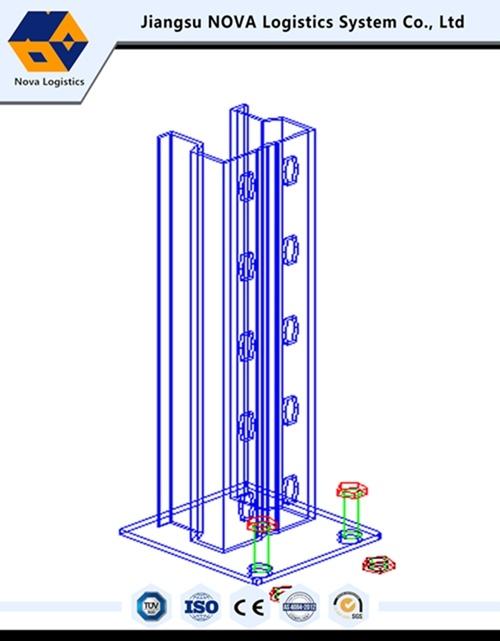 Heavy Duty Electrostatic Power Coating Pallet Racking