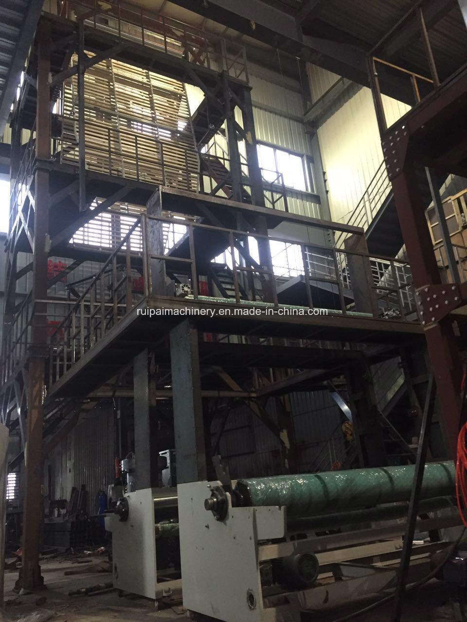 Rotary Die Double Winder High Speed Blown Film Machine