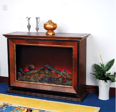 CE Approved European Electric Fireplace (515)