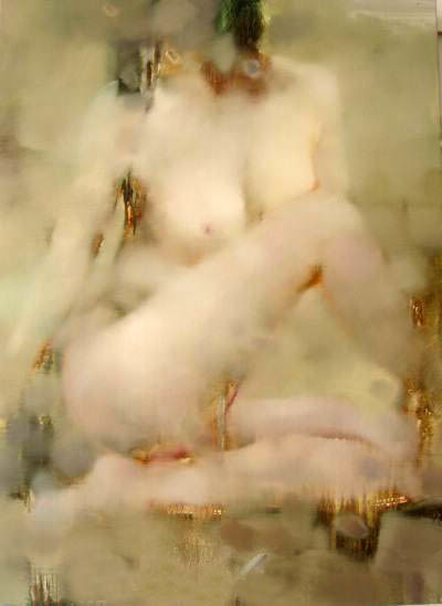 Nude Oil Painting (PP--ND45648)