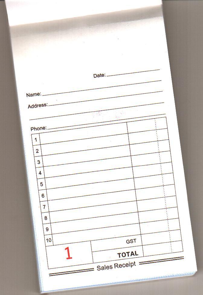 Restaurant Order Forms