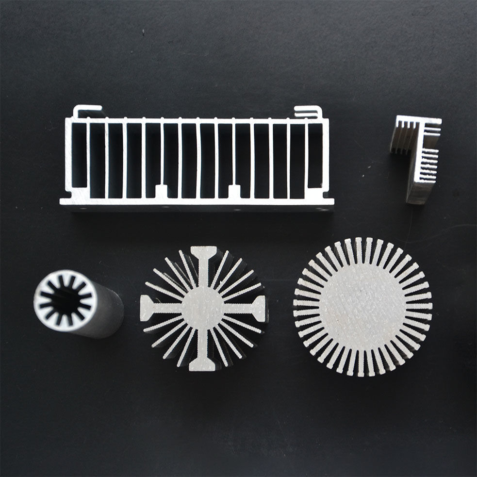 Aluminum Extrusion/Top Quality Aluminium Heat Sink