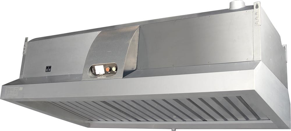 China Commercial Kitchen Ventilation Hood With Electrostatic Precipitator China Kitchen