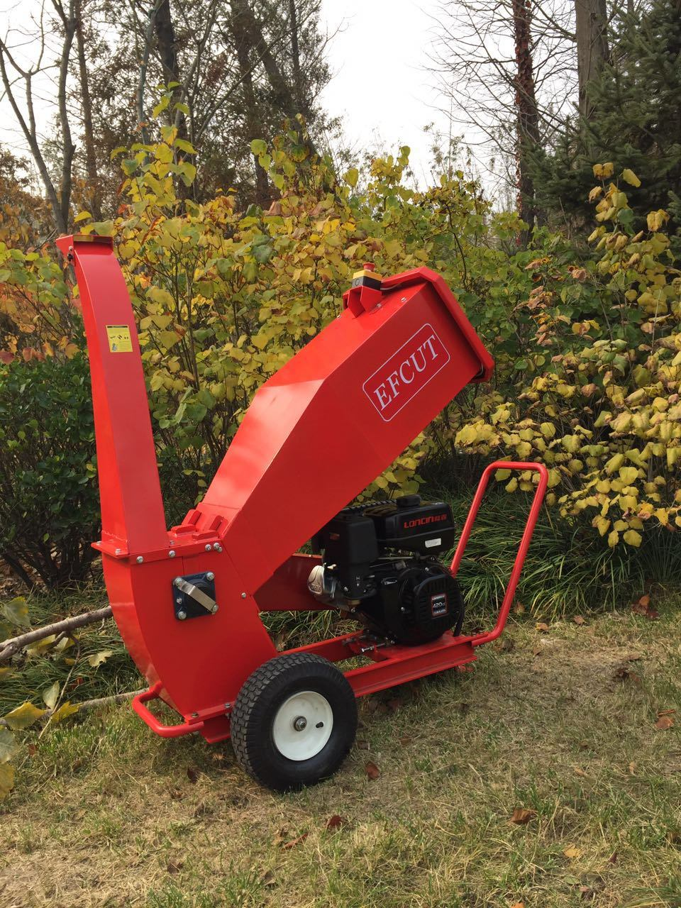 Chipper Drum Branch Shredder Wood Chip Gardening Tree Chipping Machine