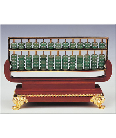 China jade abacus chinese arts crafts chinese traditional for Abacus cuisine of china