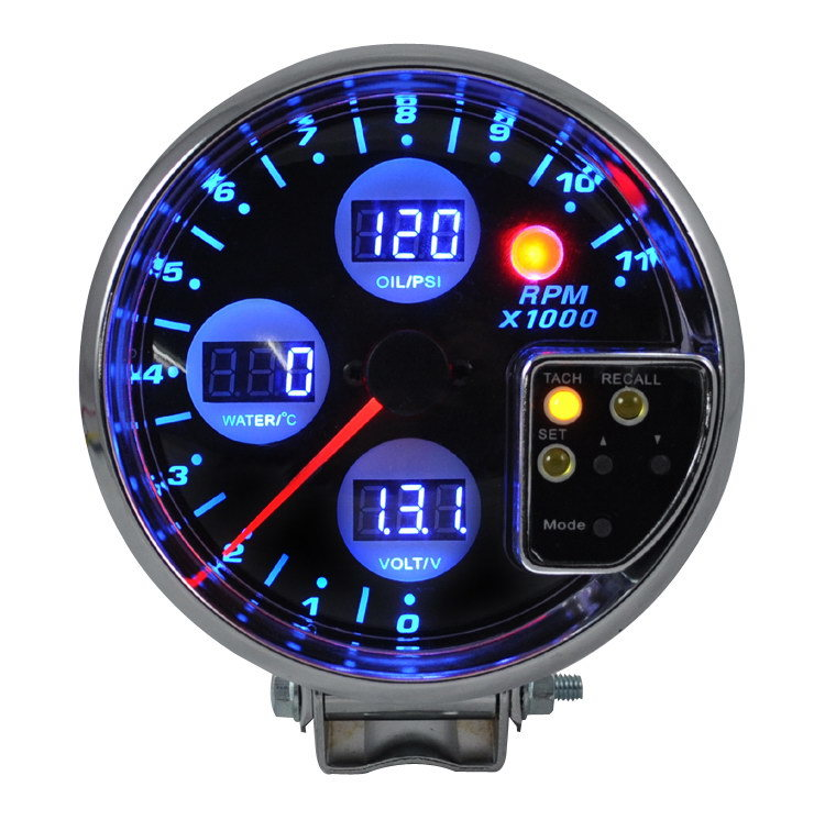 Auto Meter for New Style Tachometer / Meter / Gauge (8142-BL-2)