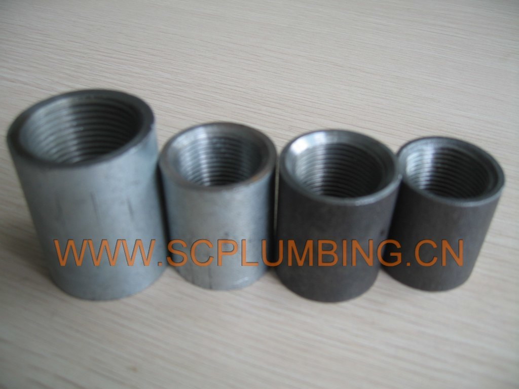 Steel Pipe Couplers : China steel pipe socket coupling