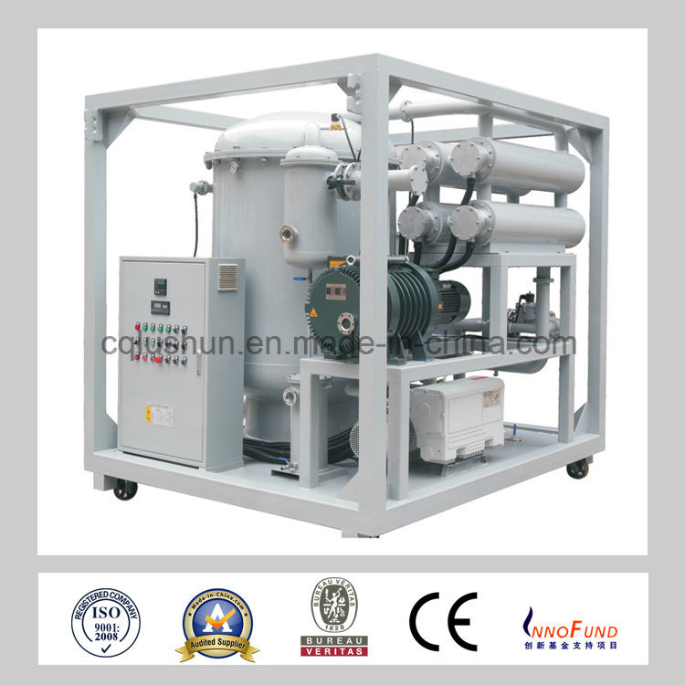Oil Refinery Plant Used Zja-200 Two-Stage Transformer Oil Purifier for Filtering