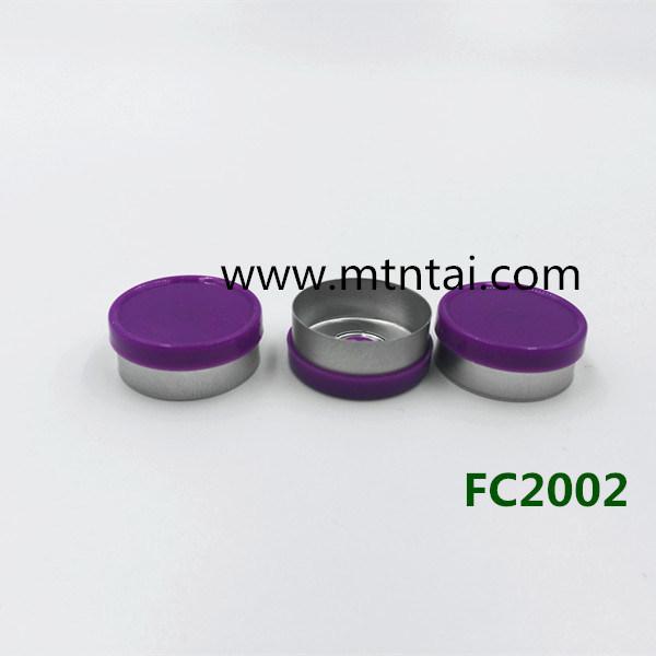 20mm Flip off Caps in Purple Color