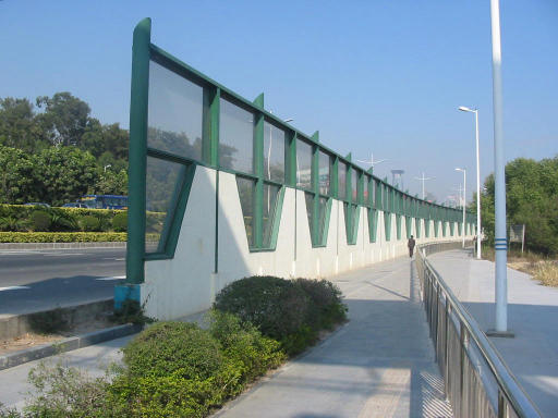 China acoustic barrier for highway sc sound