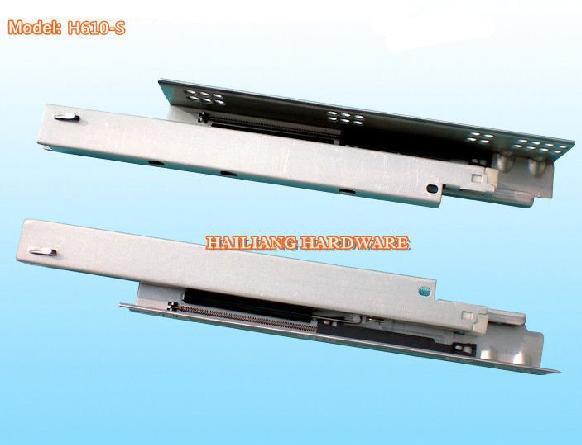 China Kitchen Cabinet Drawer Slide Side Mount H610S China Soft