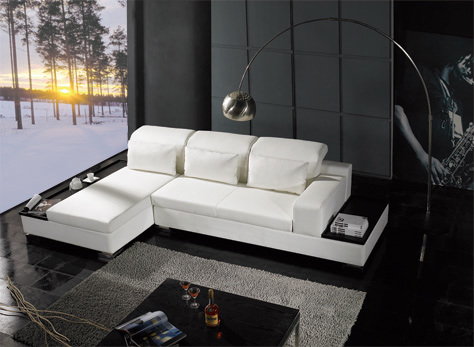 Modern Sofa (GB059) - China Leather Sofa, Italy Sofa