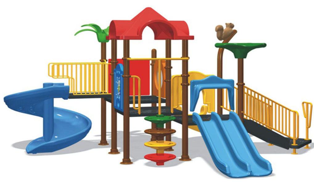 Plastic Playground Equipment (BW-217A)