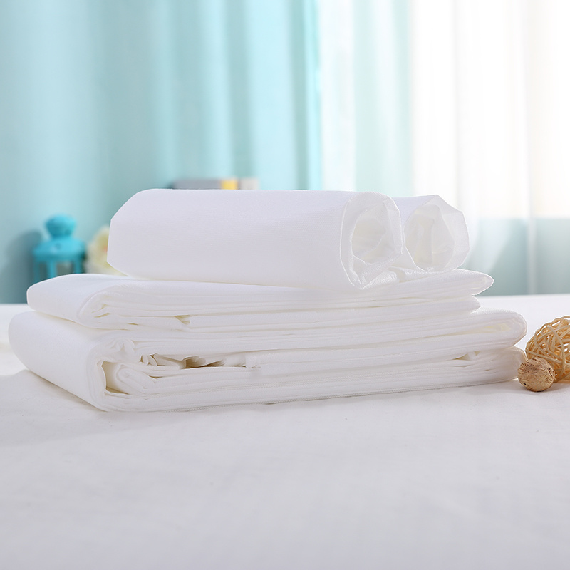 Non-Woven Disposable Bed Sheet for Hotel and Travel