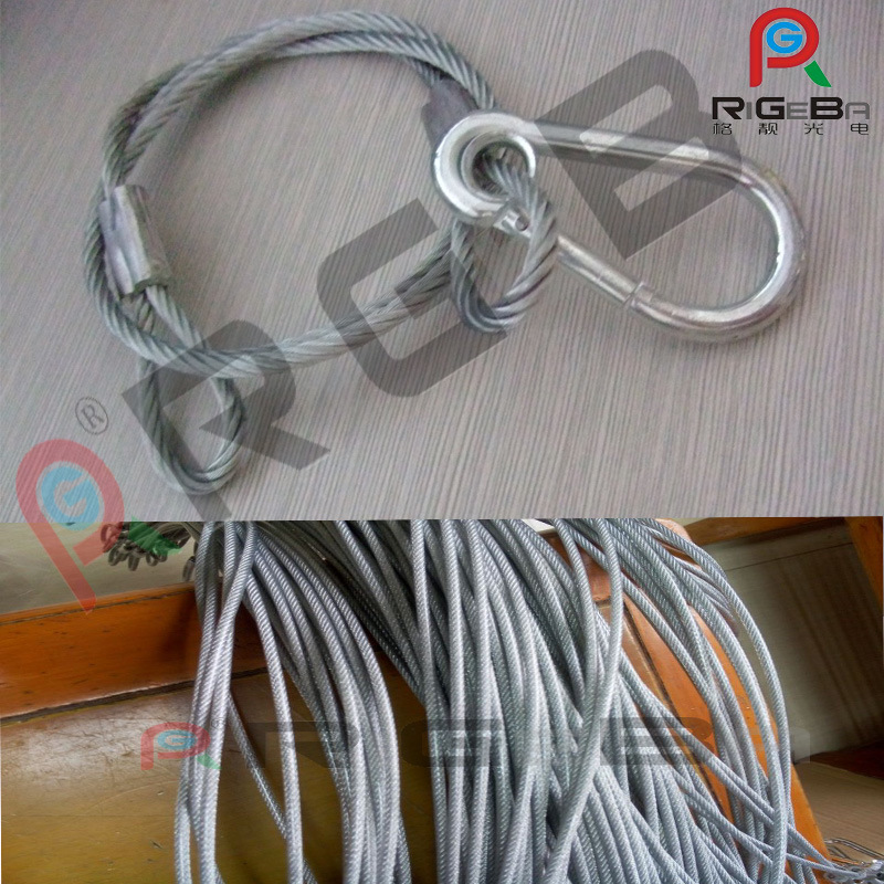 Stainless Steel Stage Light Safety Cable Chain