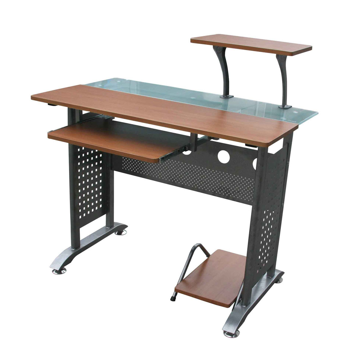 China Glass Computer Table (CT-518) - China Computer Table