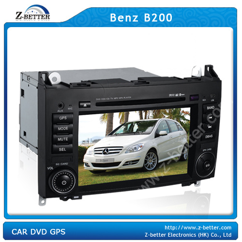 china car dvd system for benz b200 with gps z 2906f. Black Bedroom Furniture Sets. Home Design Ideas