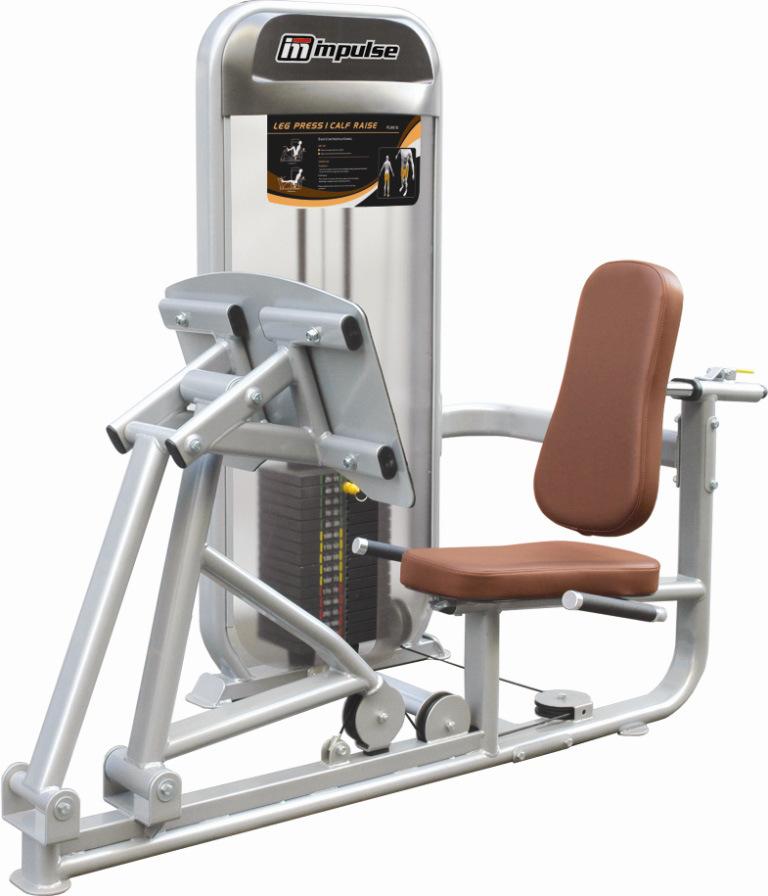 China Leg Press/ Calf Raise (PL9010) - China Fitness ...