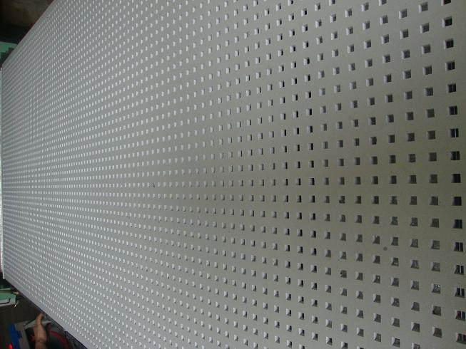 China perforated acoustic gypsum board