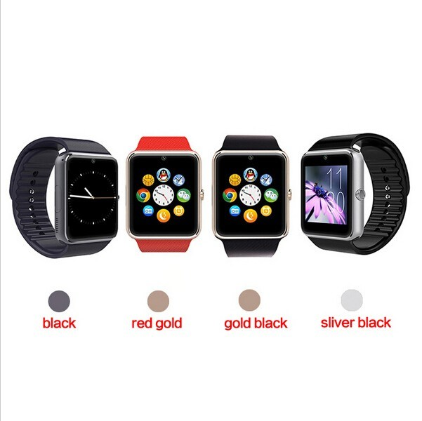 Smart Watch Mobile Phone Gt08 with Touch Screen