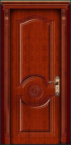 wooden paint door tf 158 china interior wood door wooden door. Black Bedroom Furniture Sets. Home Design Ideas