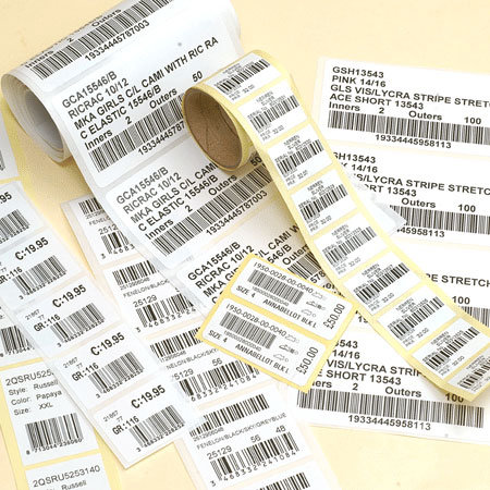 All Designs Celebrity Barcode Label Sticker